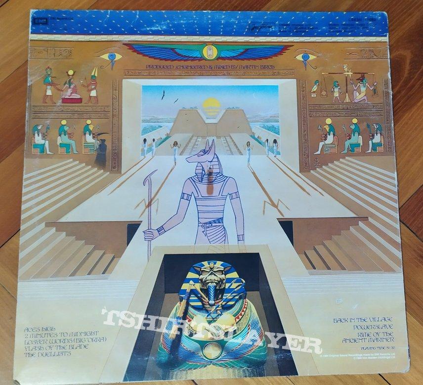 Iron Maiden - Powerslave vinyl