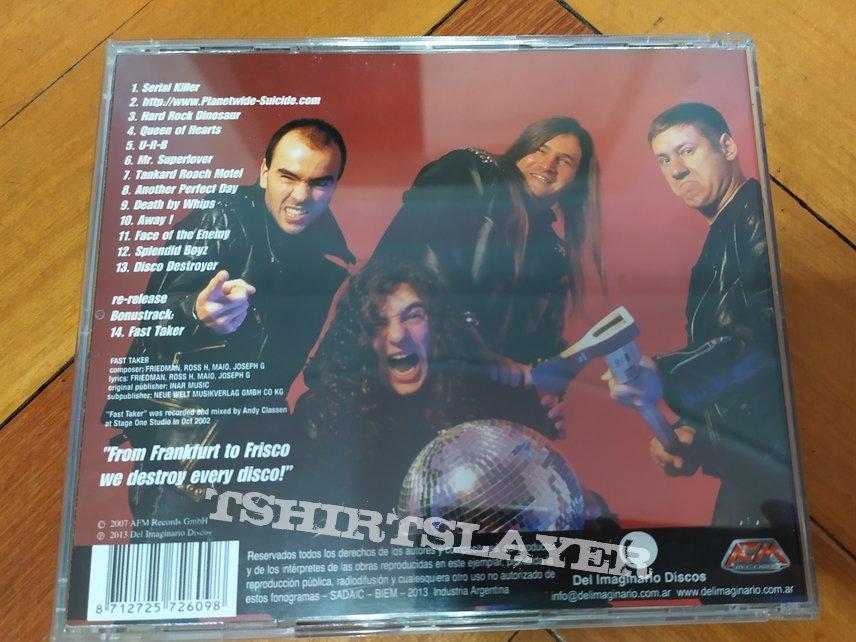 Tankard - Disco Destroyer CD