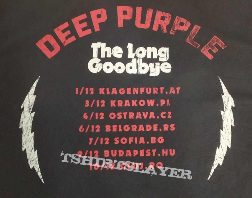 Deep Purple The Long Goodbye tour t-shirt