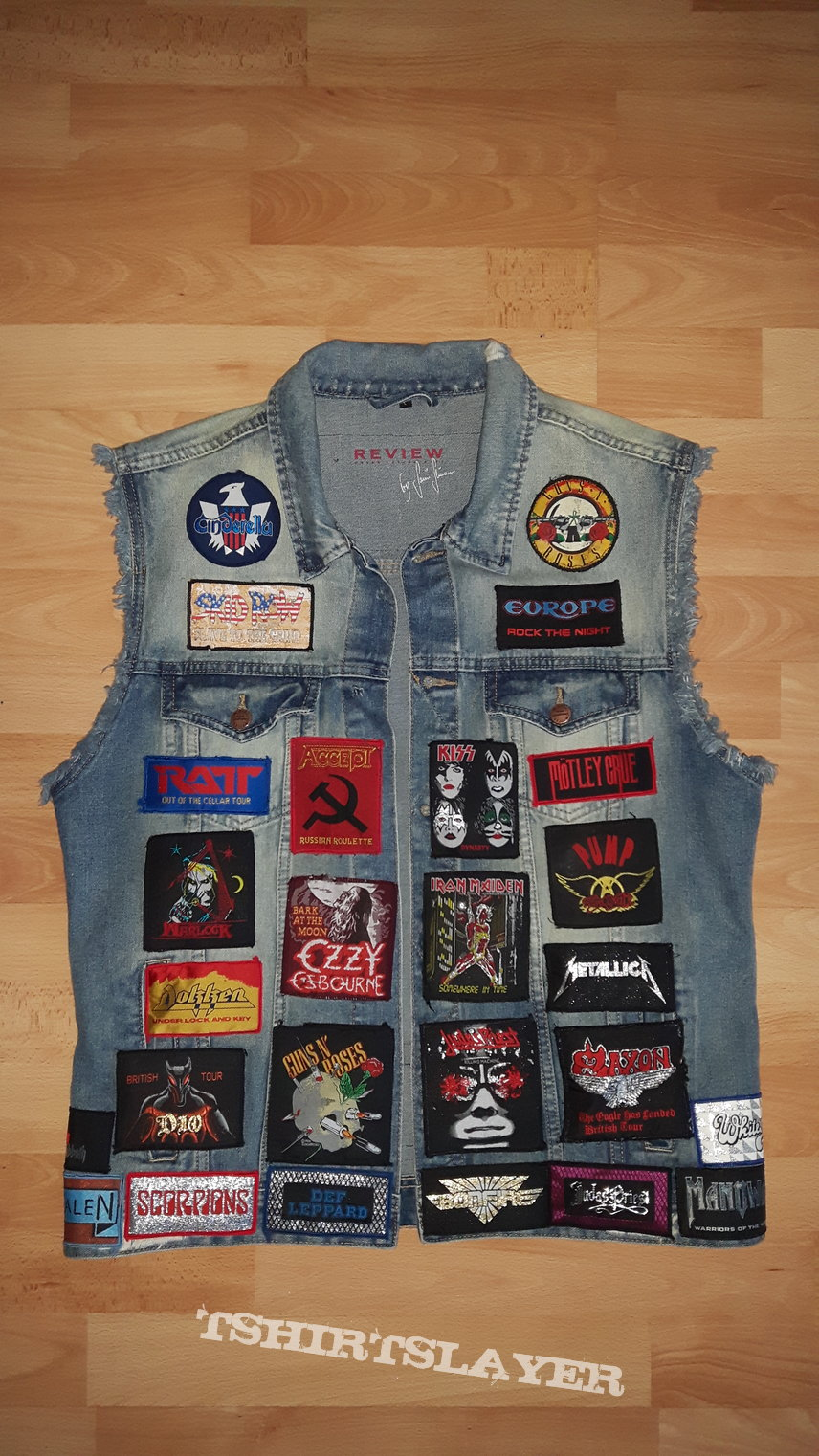 My new vintage Battle Vest