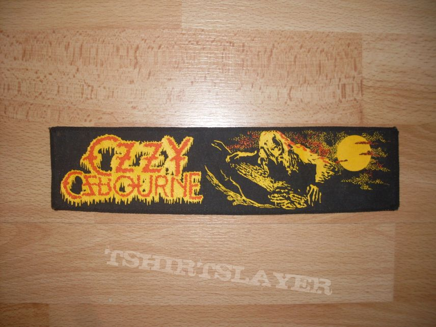 Ozzy Osbourne , Bark at the Moon , Strip Patch
