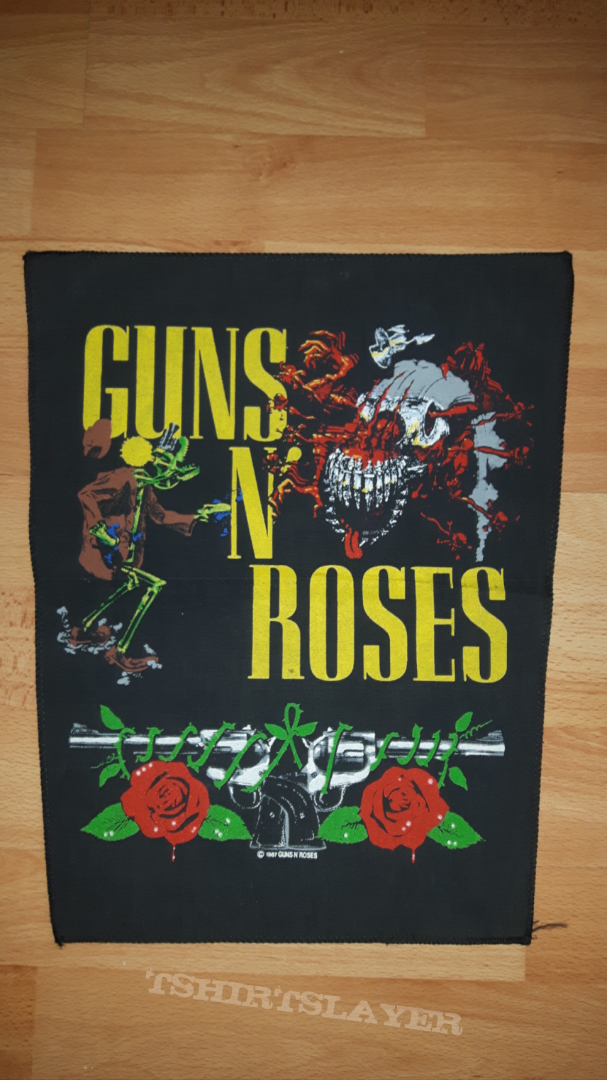 Guns N' Roses Backpatch