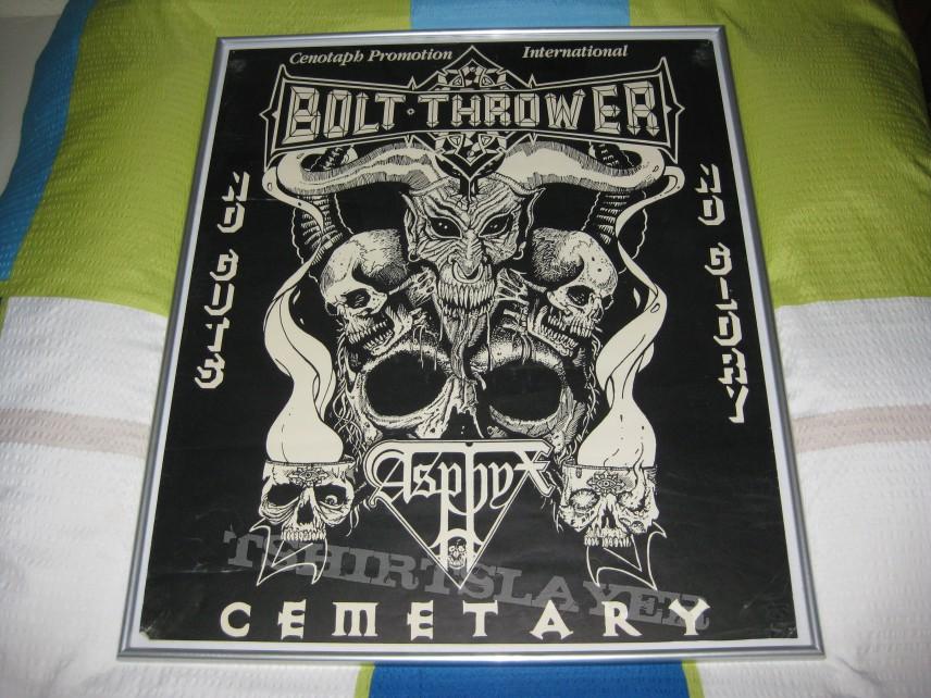Bolt Thrower Tour Poster