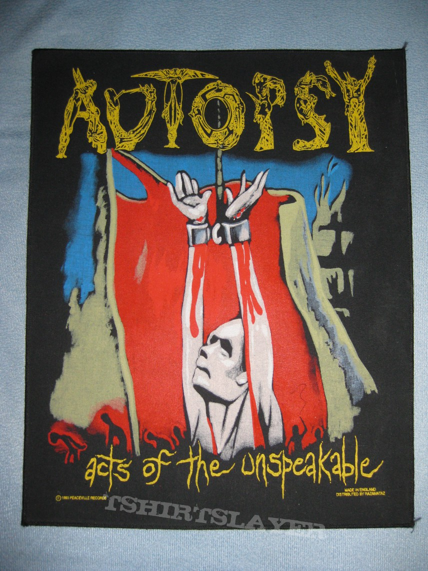 Autopsy Acts of the Unspeakable Backpatch