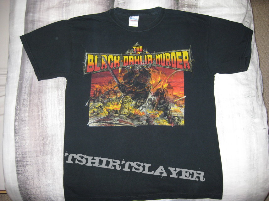 The Black Dahlia Murder Shirt Bolt Thrower Design