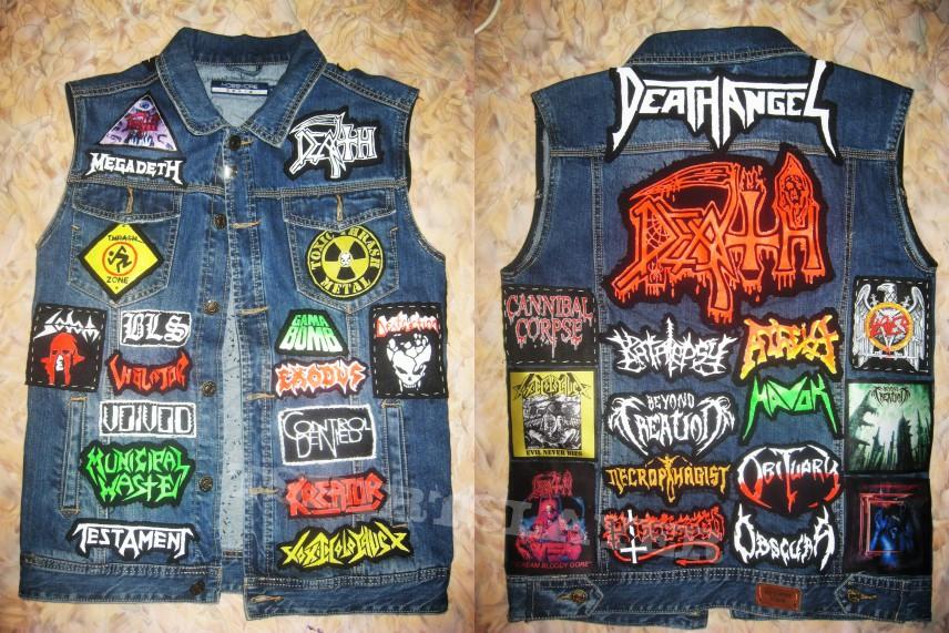 Thrash/Death Metal Kutte