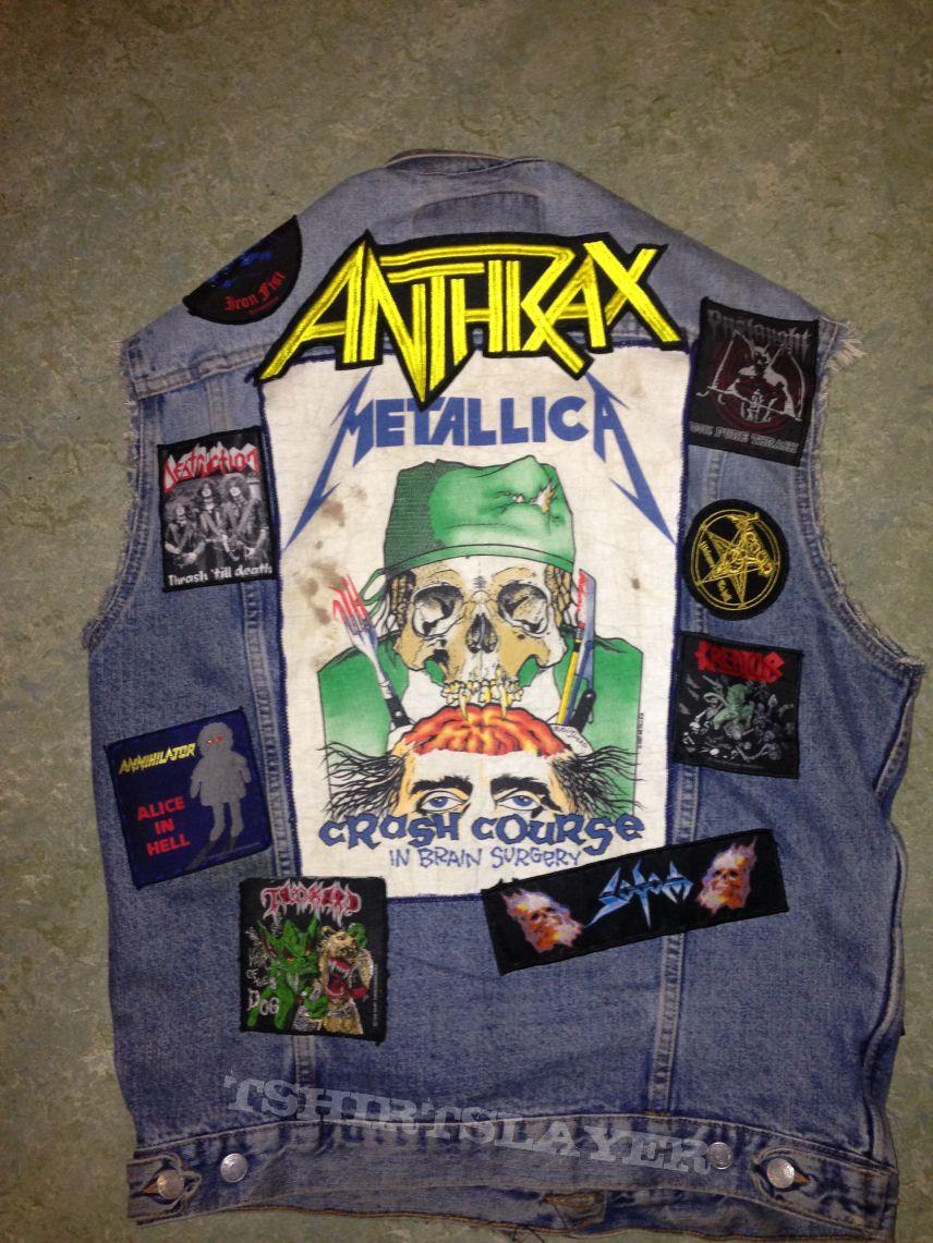 ahriman u0026 39 s venom  sodom  anthrax  my battle jacket battle