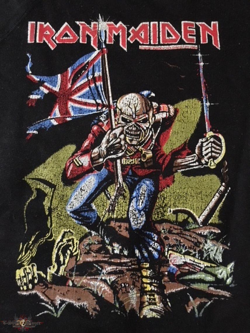 Iron Maiden - The Trooper Vintage 1984 Sweatshirt