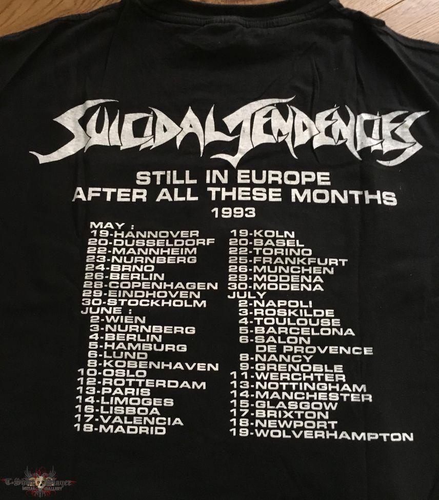 Suicidal Tendencies - European Tour 2013 TS