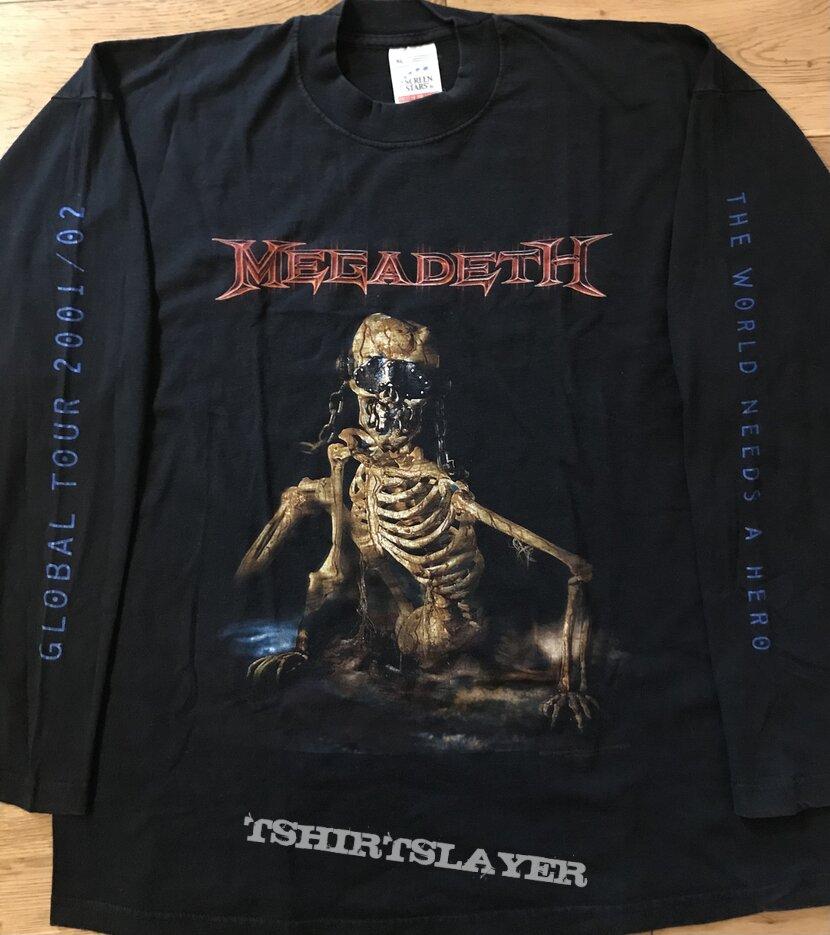 Megadeth - Global Tour 2001 / 2002 LS