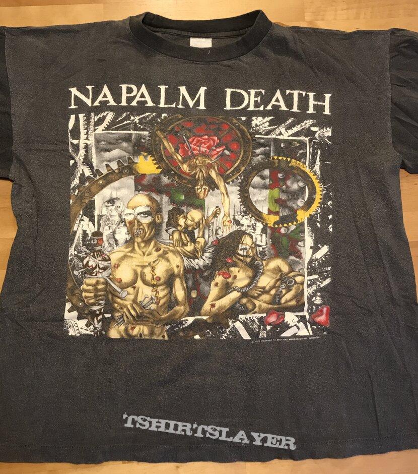 Napalm Death - Utopia Banished TS