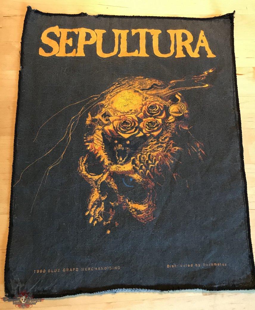 Sepultura - Beneath The Remains 1990 OG Backpatch
