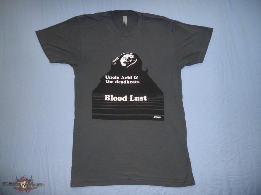 """Uncle Acid & The Deadbeats """"Asphalt"""" Blood Lust T-Shirt"""
