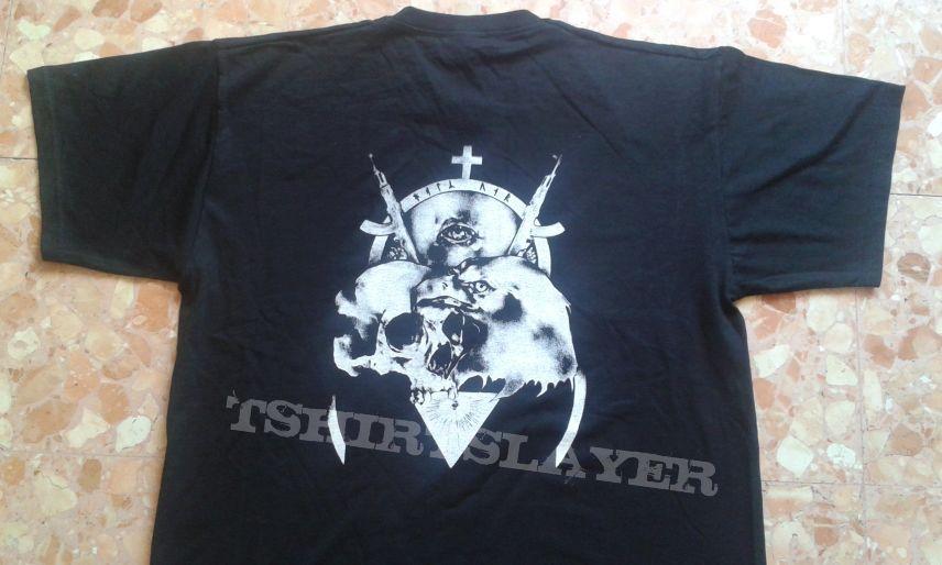 Godless North - twin moon shirt