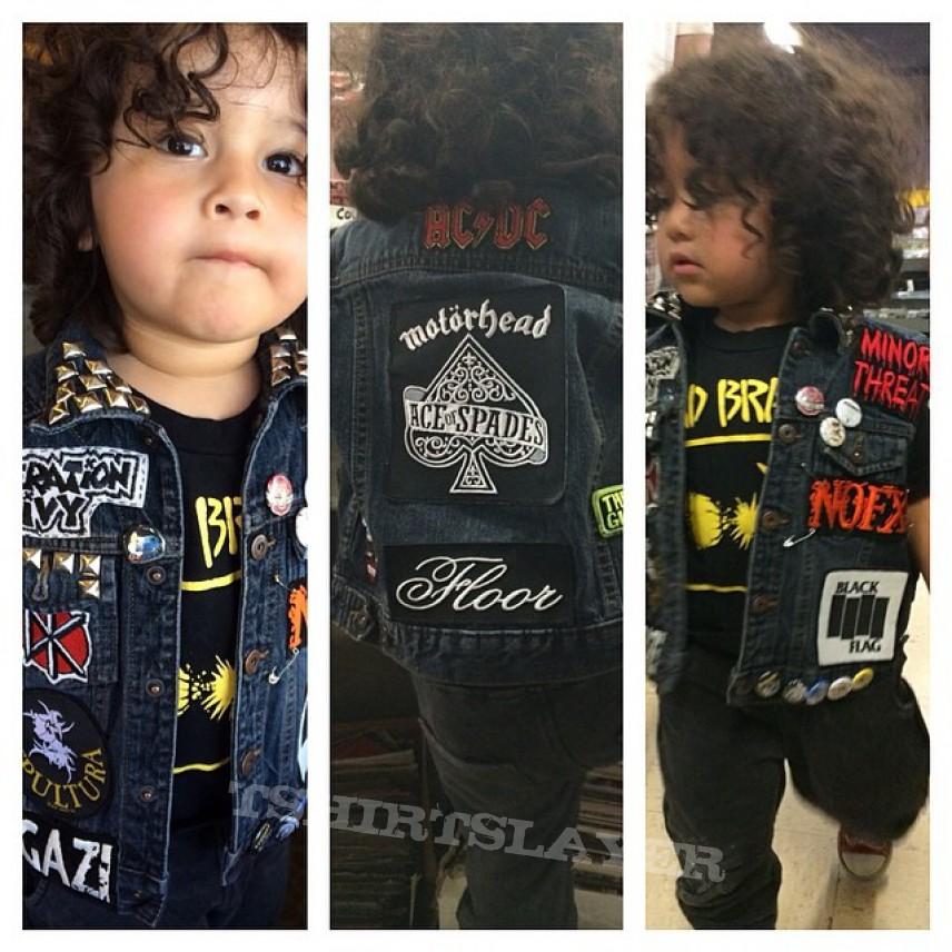 My kids first vest