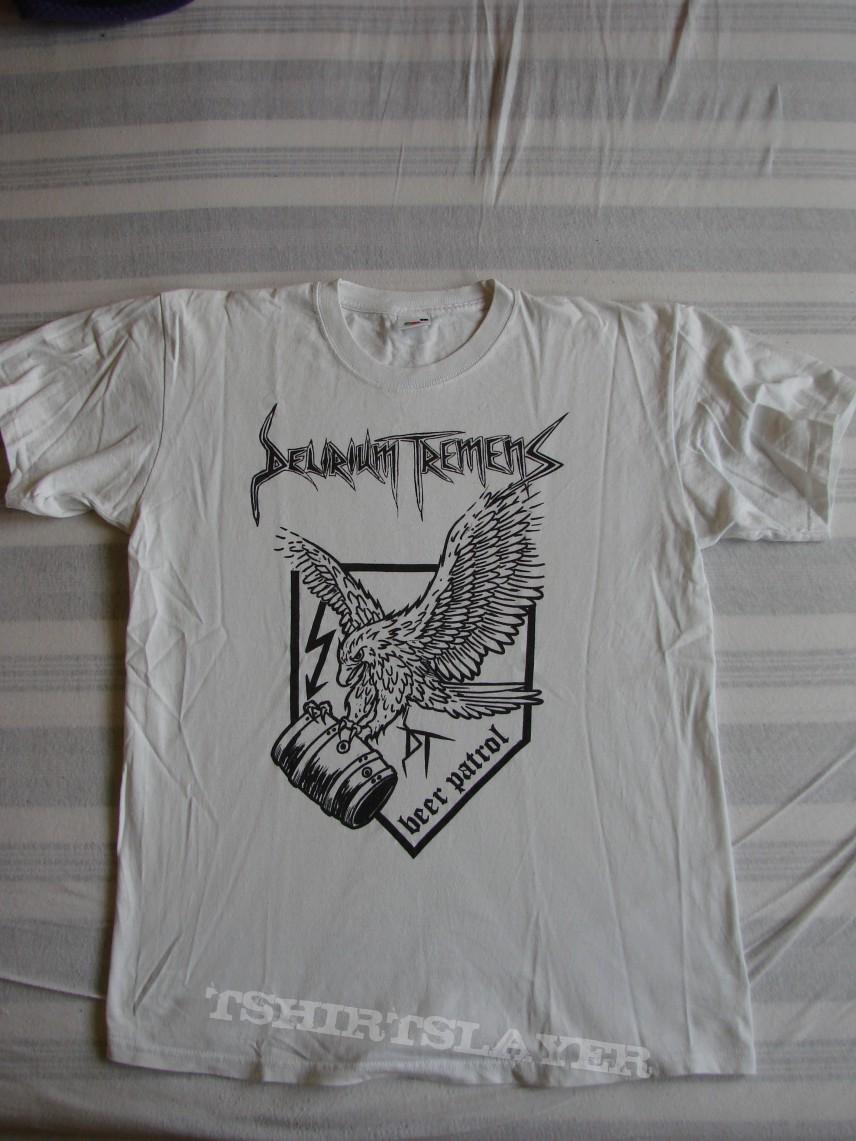 """TShirt or Longsleeve - DELIRIUM TREMENS """"Beer Patrol"""" official T-Shirt"""