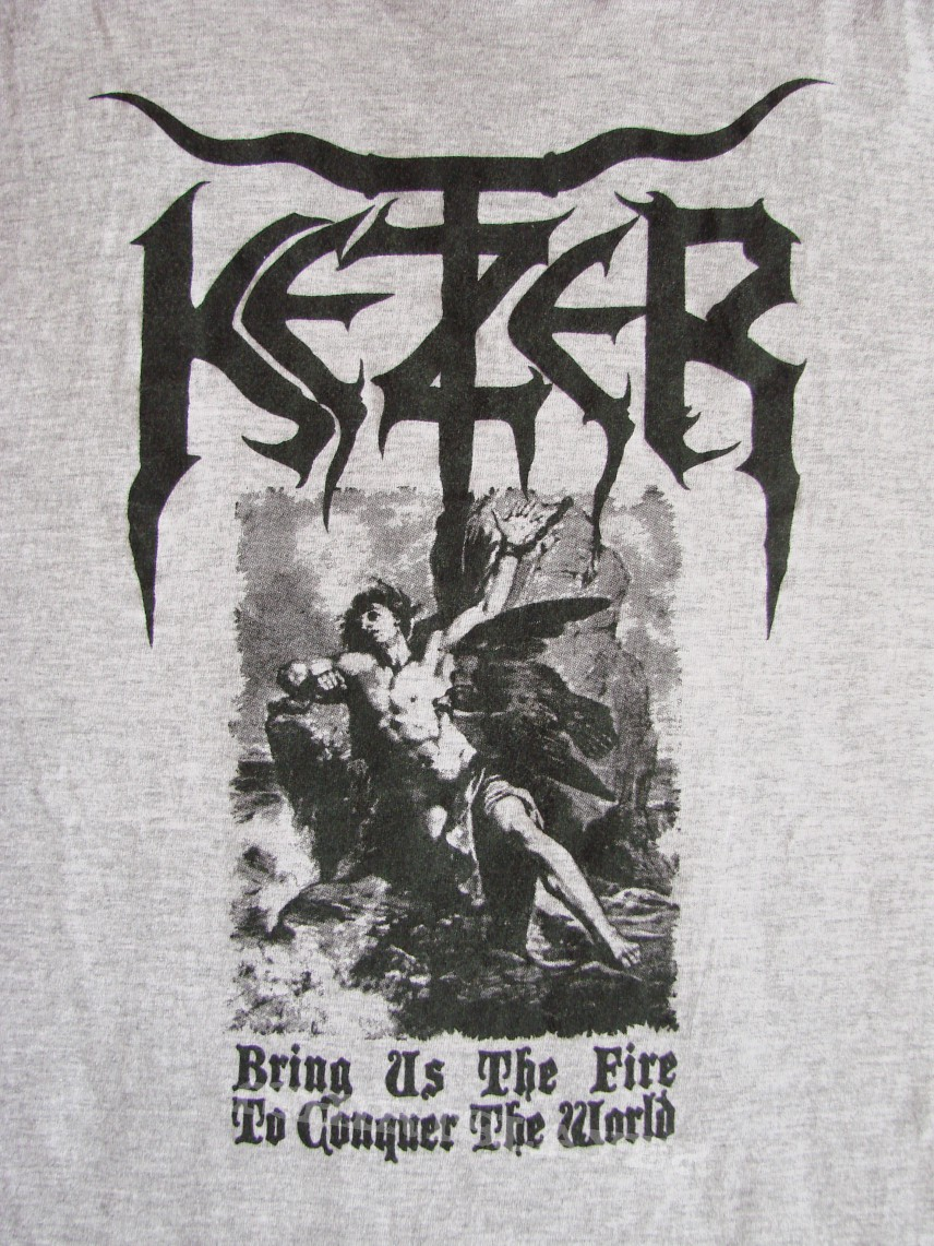 """TShirt or Longsleeve - KETZER """"Bring Us The Fire To Conquer The World"""" official T-Shirt"""