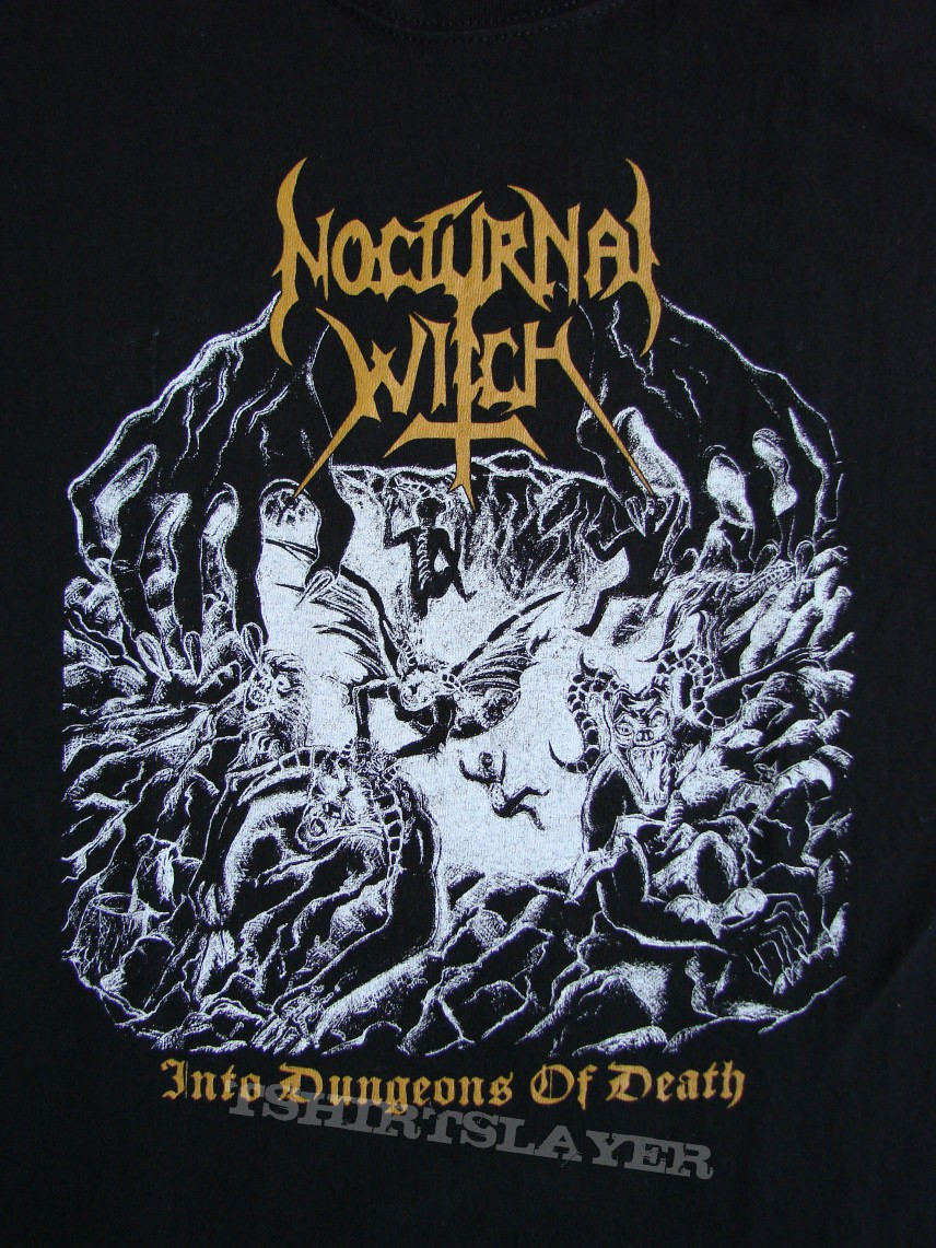 "TShirt or Longsleeve - NOCTURNAL WITCH ""Into Dungeons..."" official T-Shirt"