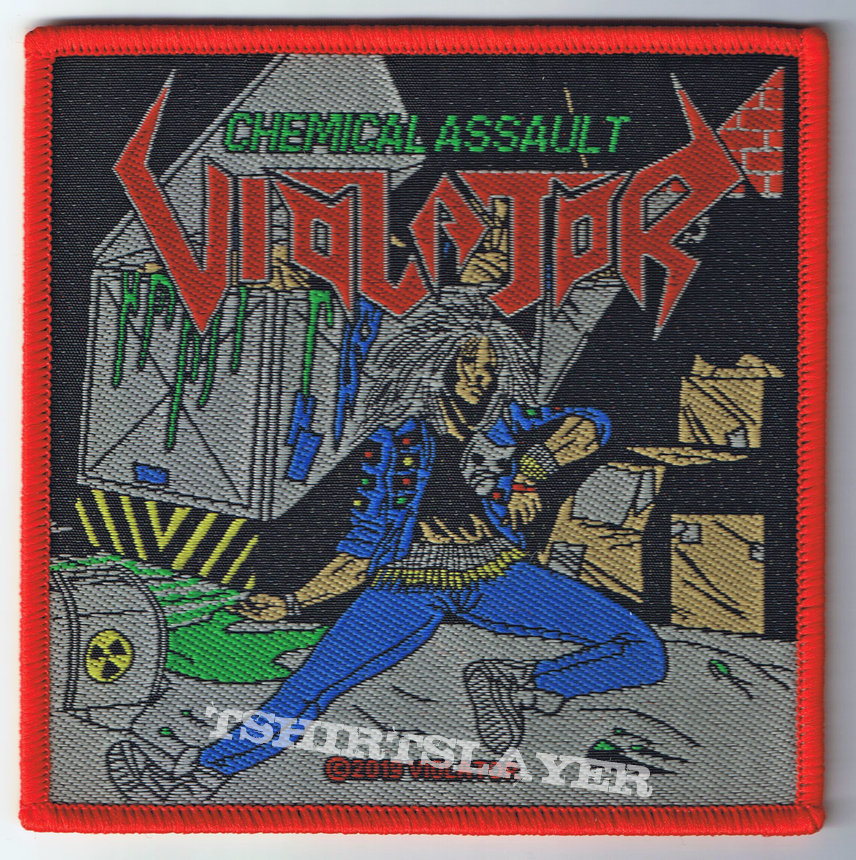 Violator - Chemical Assault woven Patch