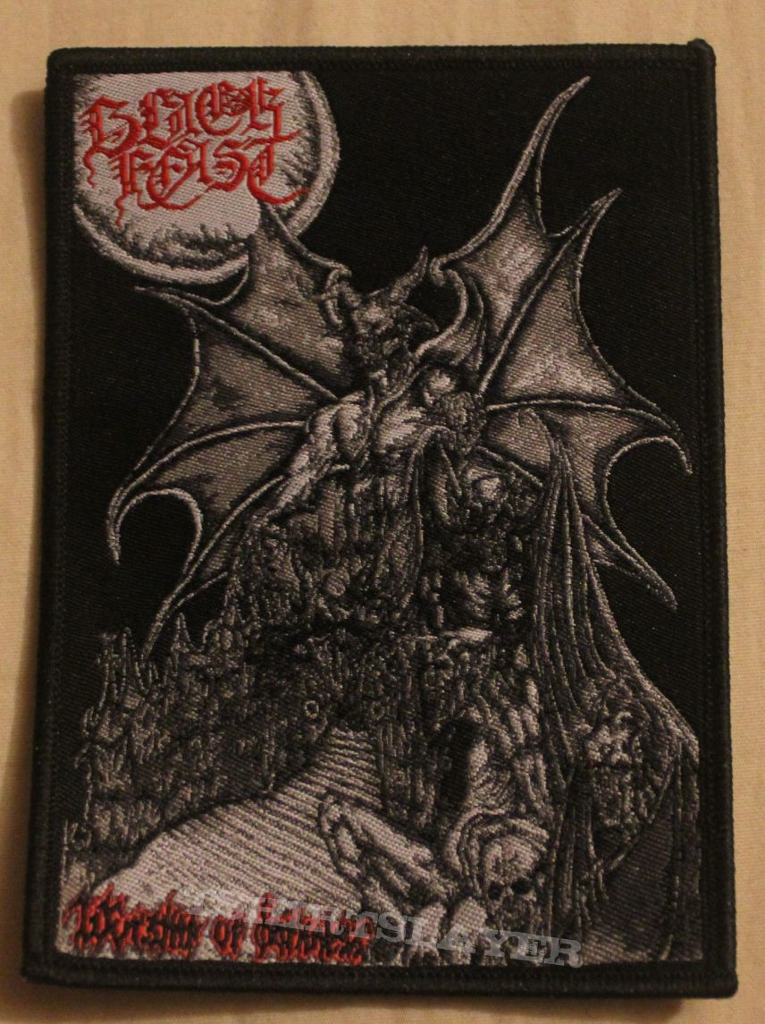 """Black Feast """"Worship of Darkness"""" patch"""