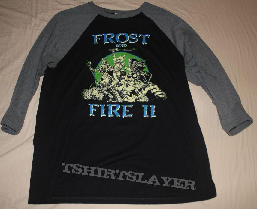 Frost and Fire II Festival raglan shirt