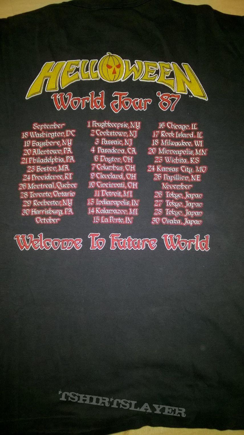 Helloween - World Tour '87