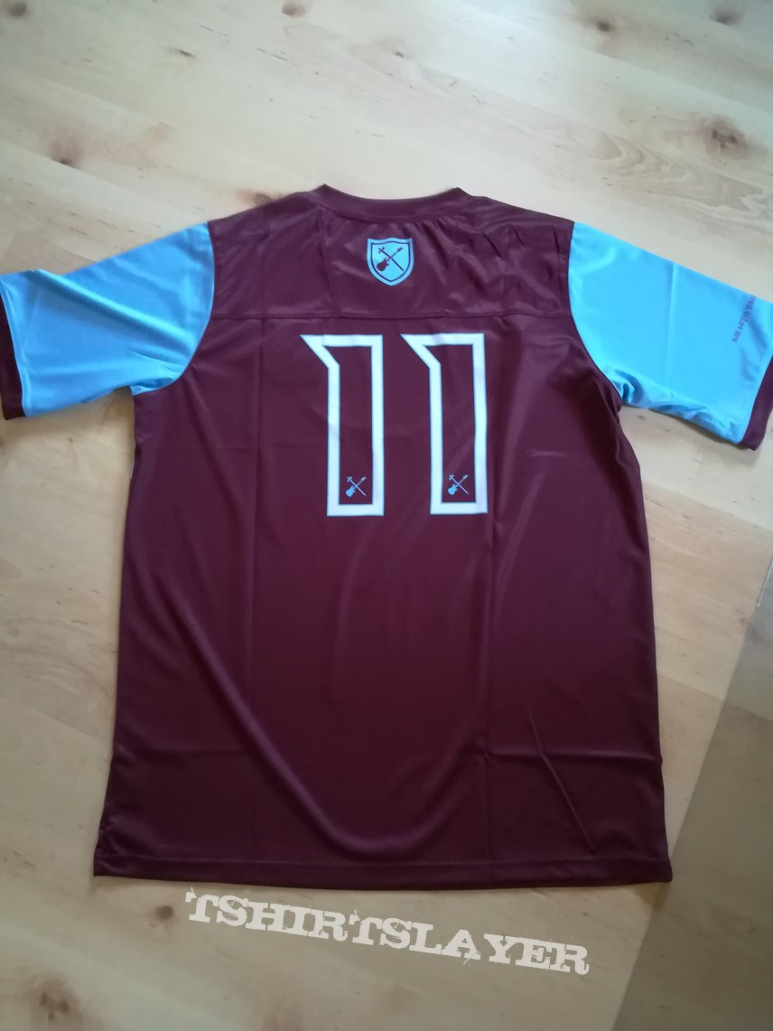 Official West Ham United Iron Maiden Jersey