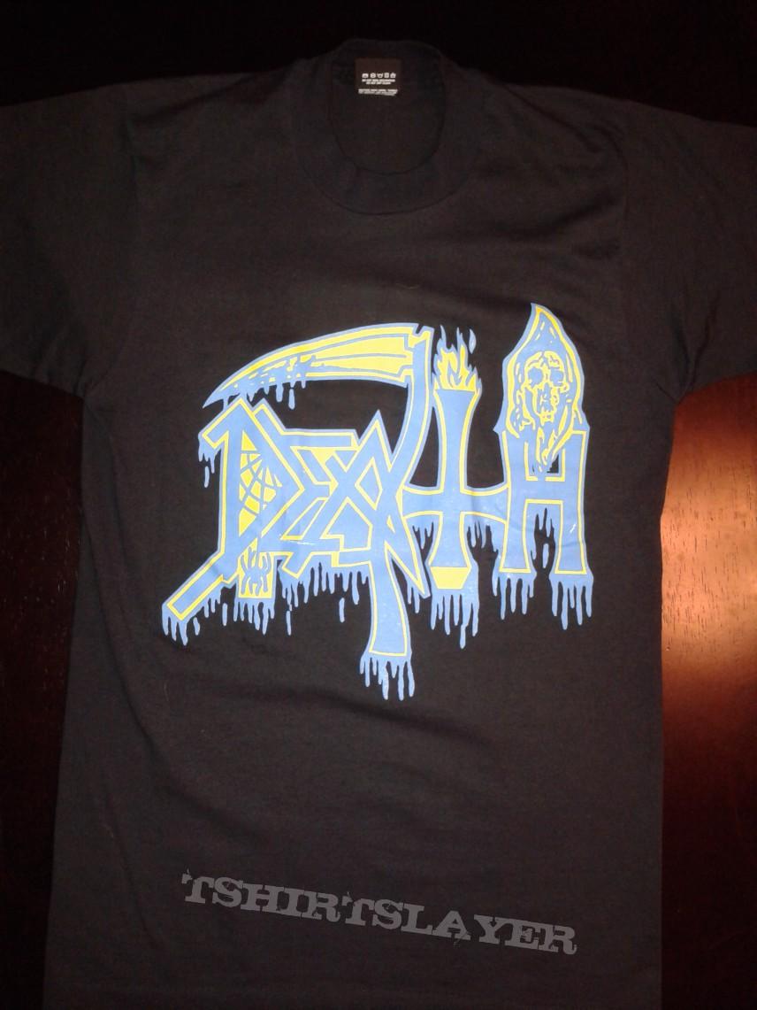 Death Spiritual Healing shirt 1990 world tour