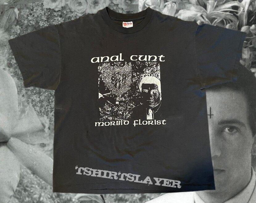 """Anal Cunt """"Morbid Florist"""" OG shirt"""
