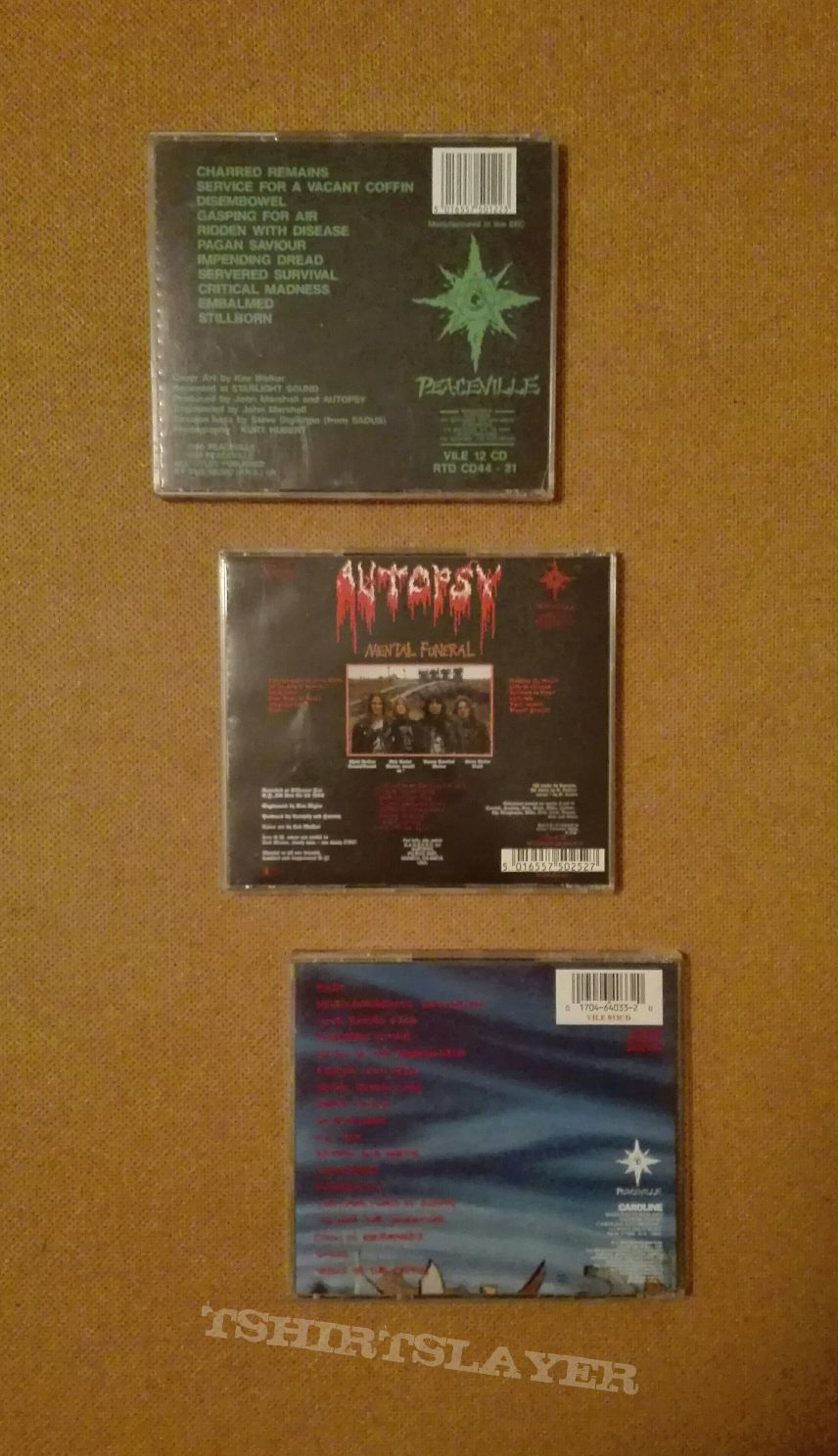Autopsy CDs Collection