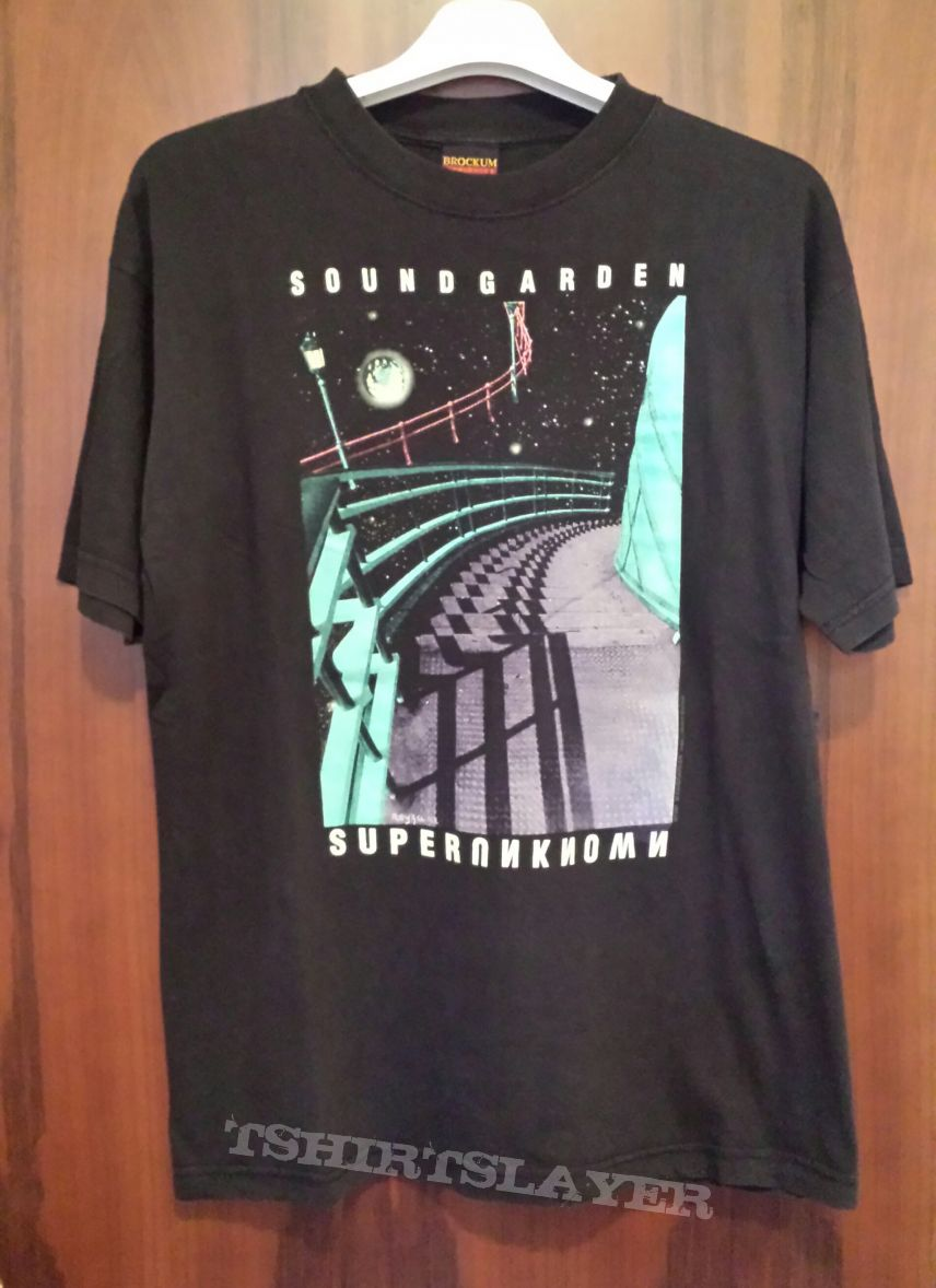 Fabbrogrind80 39 S Soundgarden Soundgarden Superunknown Tshirt Or Longsleeve Tshirtslayer