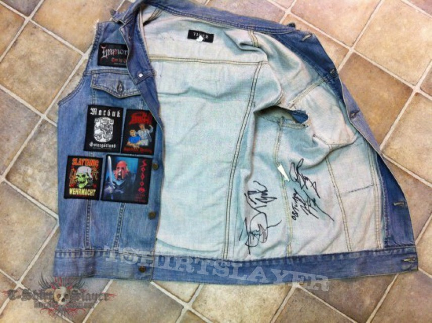 Other Collectable - Obituary Signatures on Vest