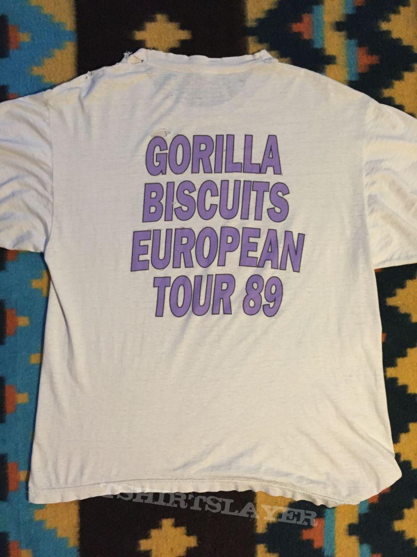 Gorilla Biscuits European 89 Shirt
