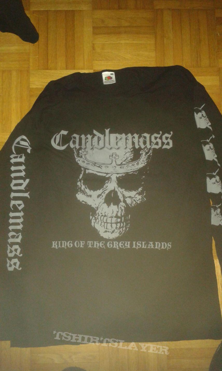 Candlemass King of the grey island tour  longsleeve (Medium)