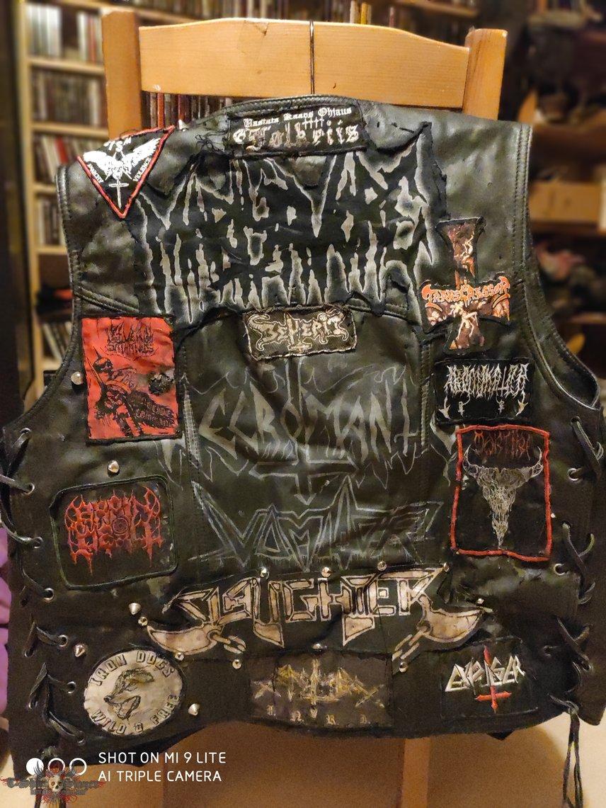 Leather and schmutz