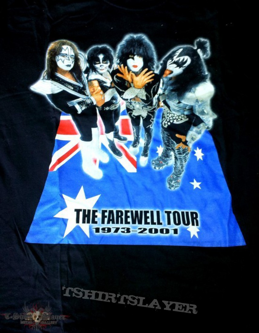 Kiss Farewell Tour  Bands