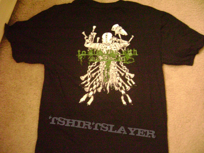 """Lividity """"Engorged in Blood"""" XL T-Shirt"""