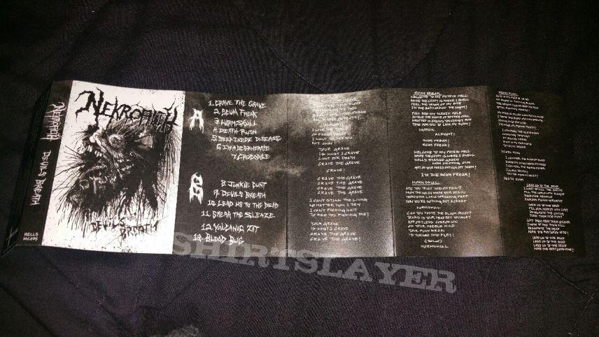 Nekrofilth Devils Breath Green Cassette Tape