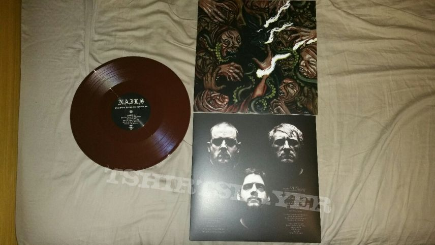 Nails You Will Never Be One of Us Brown LP
