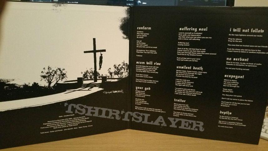 Nails Unsilent Death black vinyl