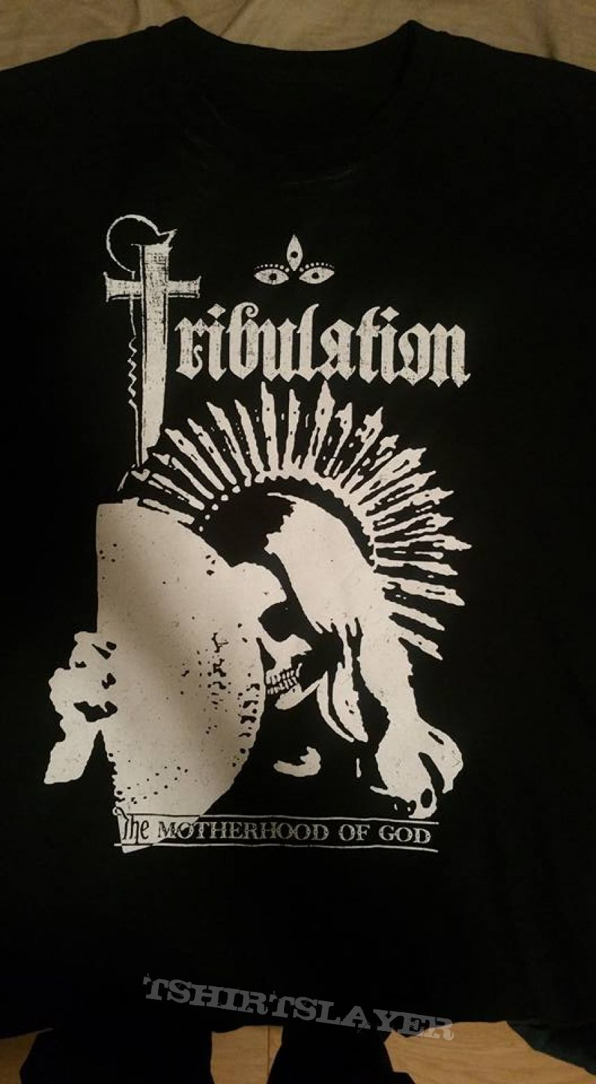Tribulation Motherhood of god tshirt