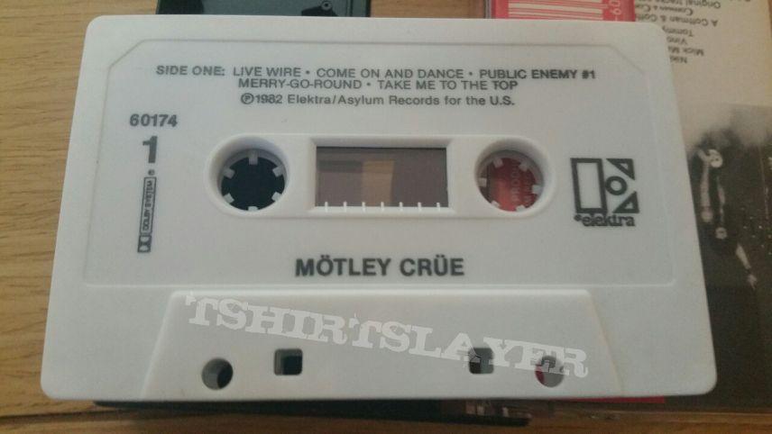 Motley Crue Cassette