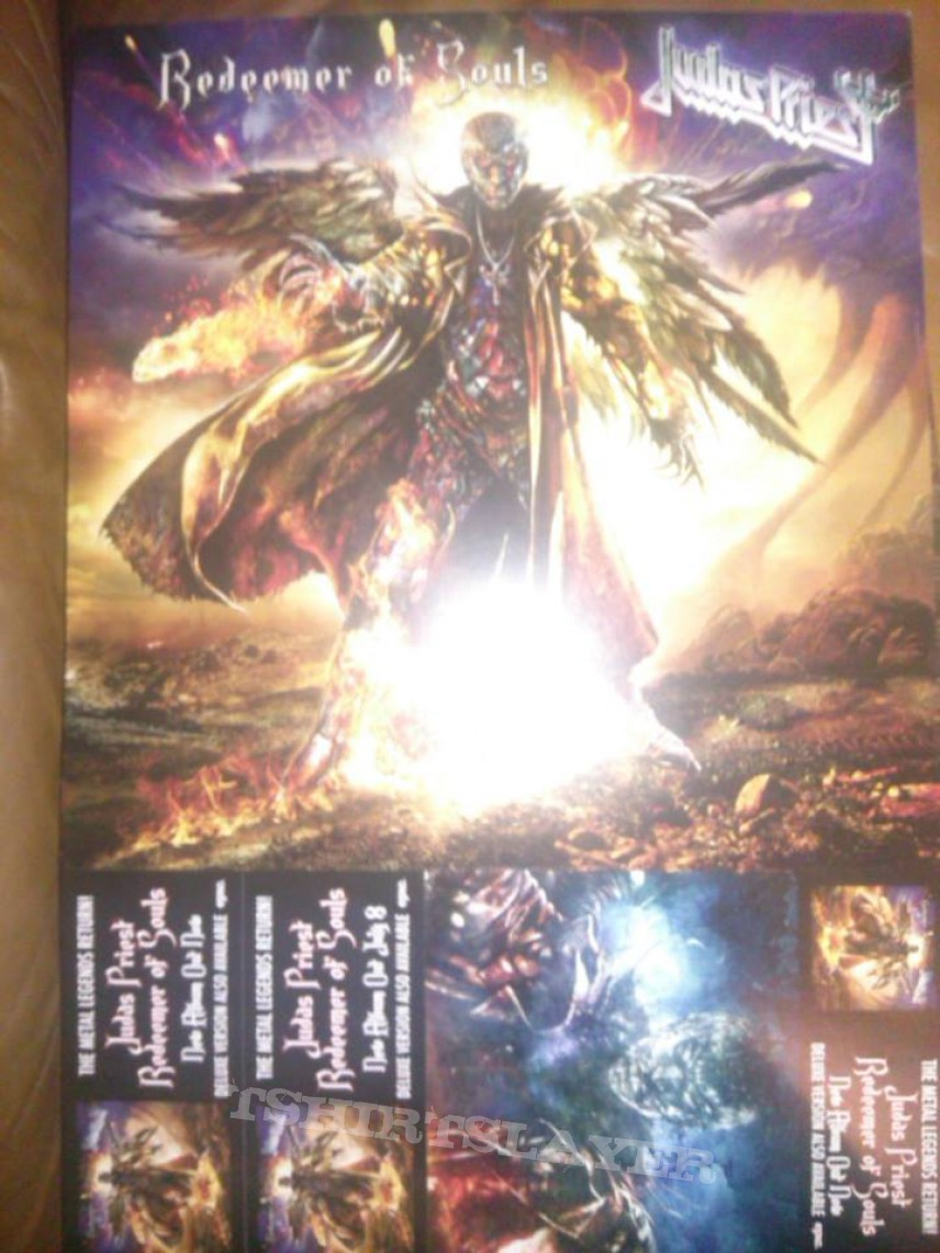 judas priest redeemer of souls poster