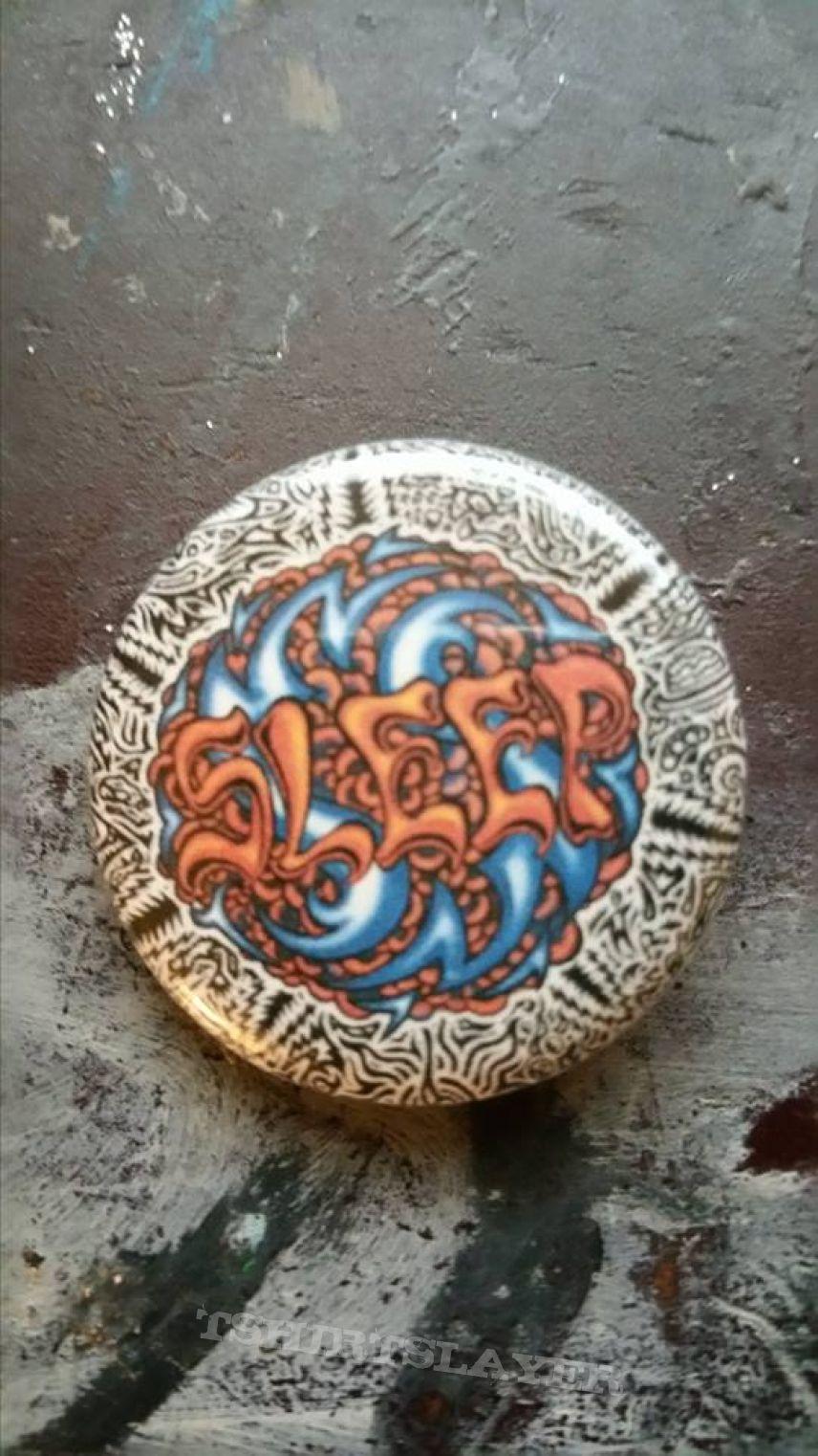 Sleep Holy mountain button | TShirtSlayer TShirt and