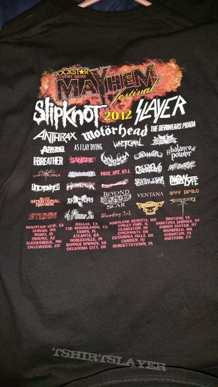Mayhem Fest 2012 Mayhem Fest 2012 Tour Bootleg