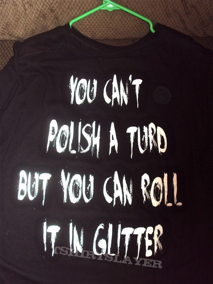 Cradle of filth polish a turd shirt
