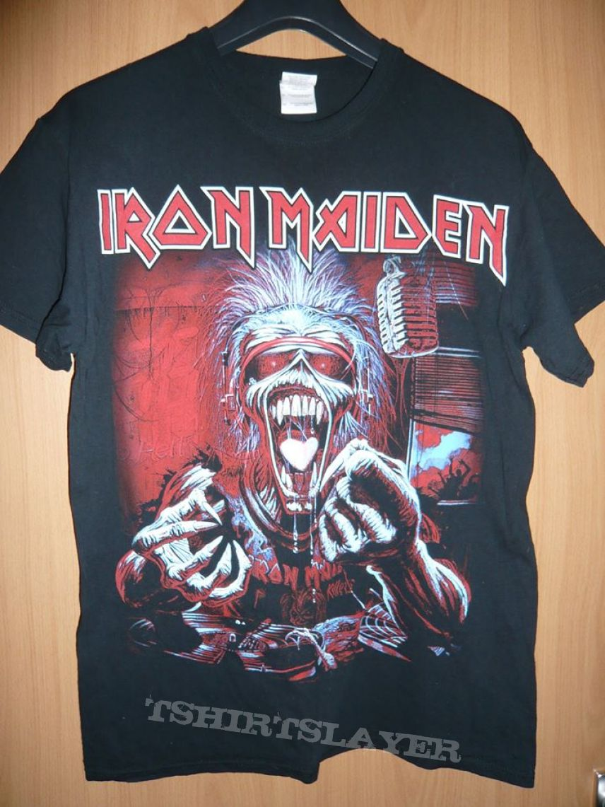 NEW /& OFFICIAL Iron Maiden /'A Real Dead One/' T-Shirt