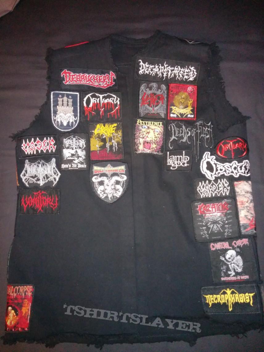 My Battle Jacket! Work in progress