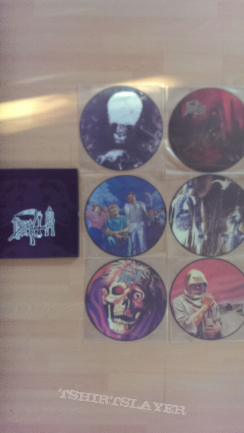 DEATH - picture Lp box