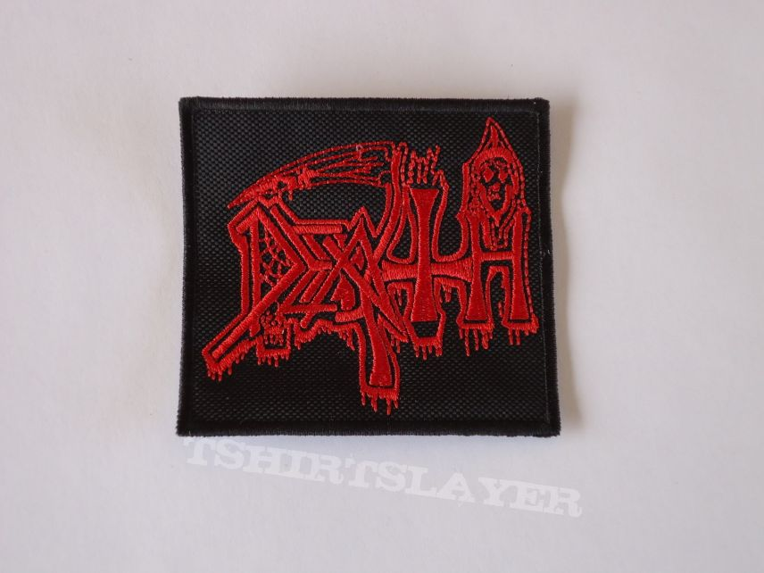 the first patches for the battle jacket of my son, i got no DEATH human backpatch for it